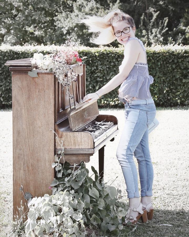 Vintage garden & bicolorejean